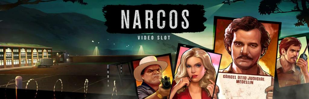 Narcos - Spelautomat om Pablo Escobar