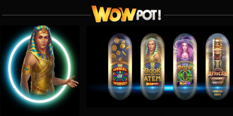 WowPot - Nya progressiva casino jackpottar från Microgaming